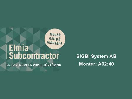 Elmia Subcontractor 2021