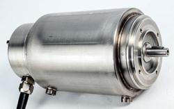 Rostfri IP69K-motor