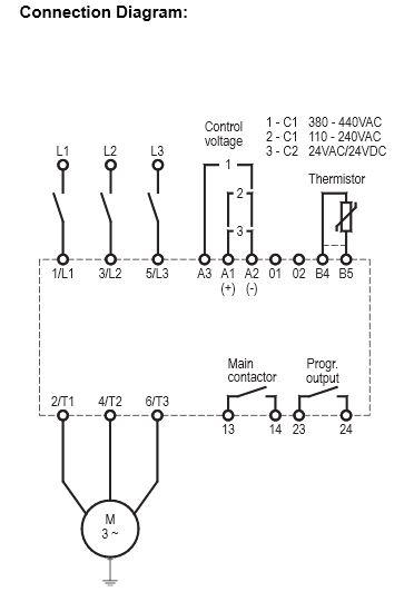 Anslutningschema VSill18-200A